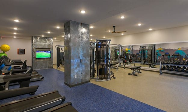 Extensive Fitness Facilities